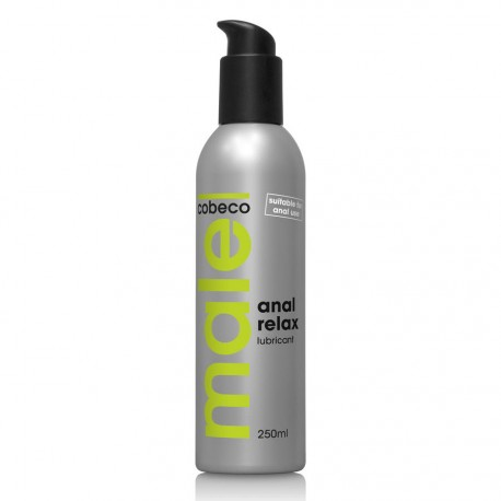 Lubricante cobeco male anal Relax 250ml