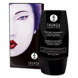 Crema estimulante Shunga Jardín Secreto