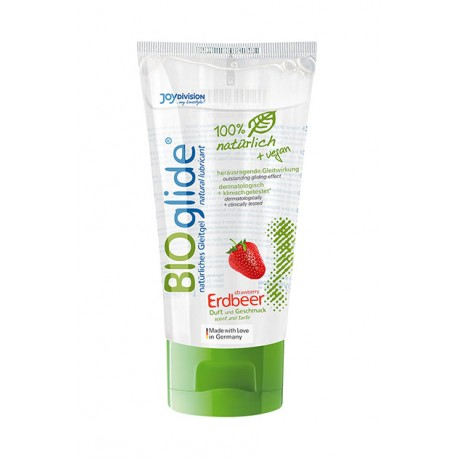 Lubricante Bioglide sabor (80ml) - FRESA