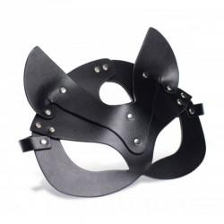 Máscara Gato Kitty cuero vegano