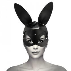 Máscara Conejo en cuero vegano Coquette