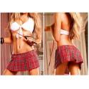 164 - Conjunto colegiala falda+top