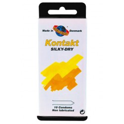 Condón Worlds Best KONTAKT Silky-Dry (10)