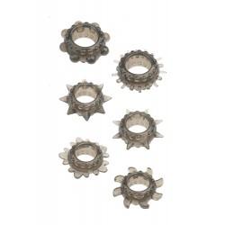 Set 6 anillos para pene estrechos MENZSTUFF
