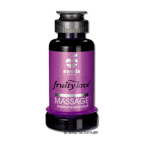Aceite Fruity Love 100ml - FRAMBUESA/POMELO