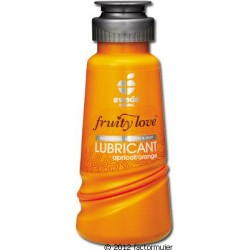 Lubricante Fruity Love 100ml - ALBARICOQUE/NARANJA