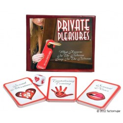Juego Private Pleasures (inglés)