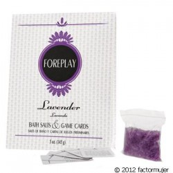 Set Jacuzzi: sales + cartas - LAVANDA