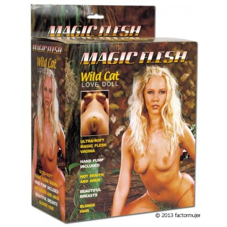 Muñeca hinchable - Wild Cat (magic flesh)