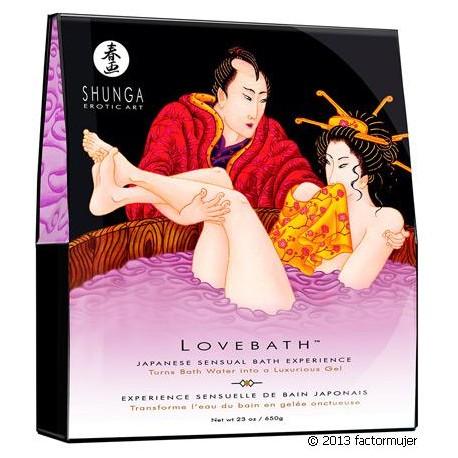 Shunga LoveBath - Lotus Sensual