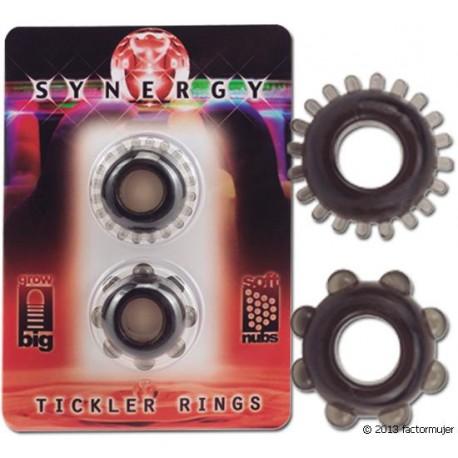 Anillos Synergy - 2 unidades