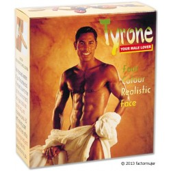 Muñeco hichable vibrador - Tyrone