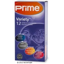 Preservativos Prime variado - VARIETY (12)