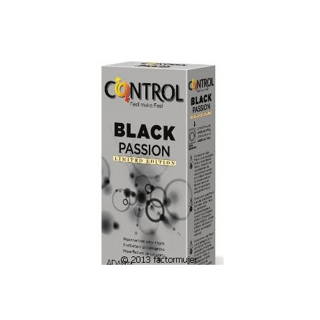 Condón Control Black Passion (12)