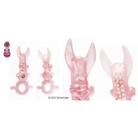 Anillo Adrien Rabbit/conejito contacto