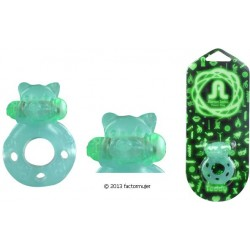 Anillo Adrien flash Teddy (fluorescente)
