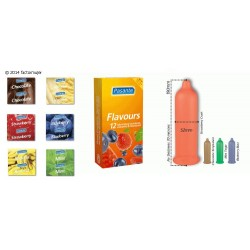 Condón Pasante sabor - FLAVOURS (1)