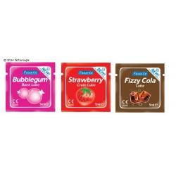 Lubricante sabores - Flavoured (sobre 5ml)