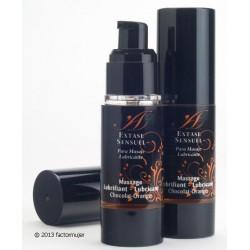 Lubricante Extase Sensuel - CHOCOLATE/NARANJA
