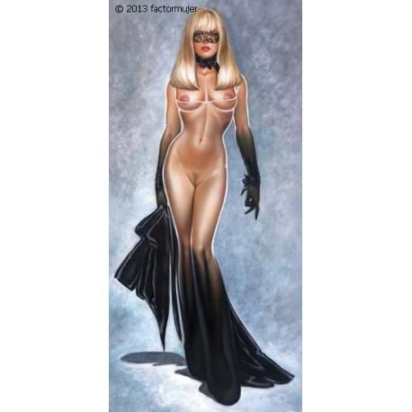 O110 - Vestido largo Olivia Colection