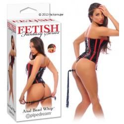 Tiral anal con látigo (Anal Bead Whip)