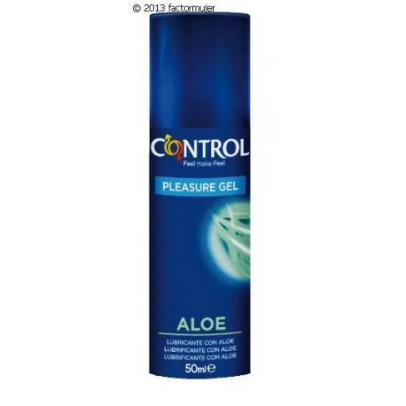 Lubricante Control Aloe Vera