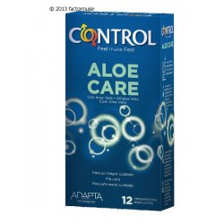 Condón Control Adapta Aloe Care (12)