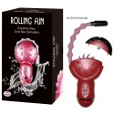 Estimulador/vibrador Rolling Fun Oral Sex