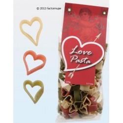 Pasta Love bicolor - CORAZONES