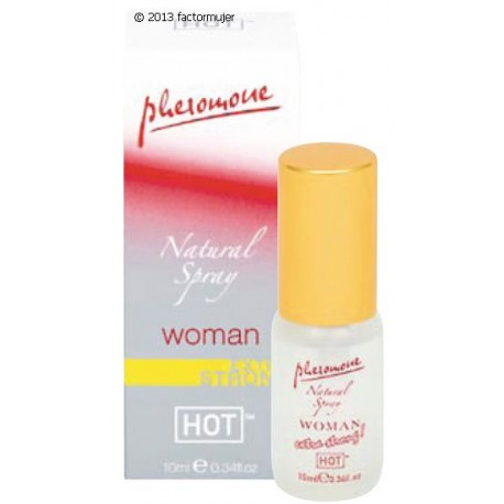 Feromonas Bolsillo Natural Spray - WOMAN (10ml)