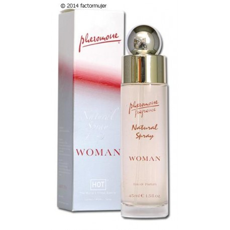 Feromonas Natural Spray - MUJER (45ml.)