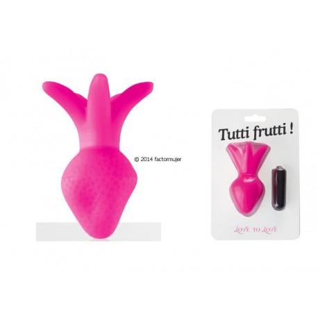 Estimulador/Plug Fresa - Tutti Frutti