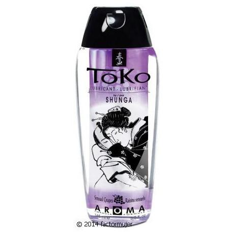 Lubricante sabor TOKO Shunga - UVA