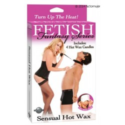 Set Sensual Hot Wax (velas cera caliente)