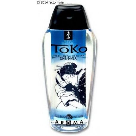 Lubricante sabor TOKO Shunga - FRUTOS EXÓTICOS