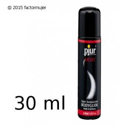 Lubricante Pjur LIGHT - silicona (30ml)