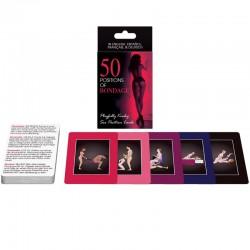 Juego de Cartas 50 posiciones bondage