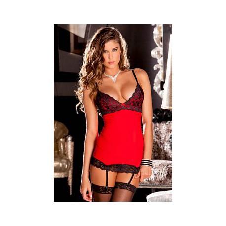 512037 - vestido liguero rojo M/L