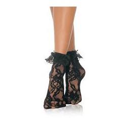 Calcetines cortos Leg Avenue 3030 - NEGRO