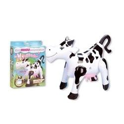 Vaca hinchable con música (agujero trasero)