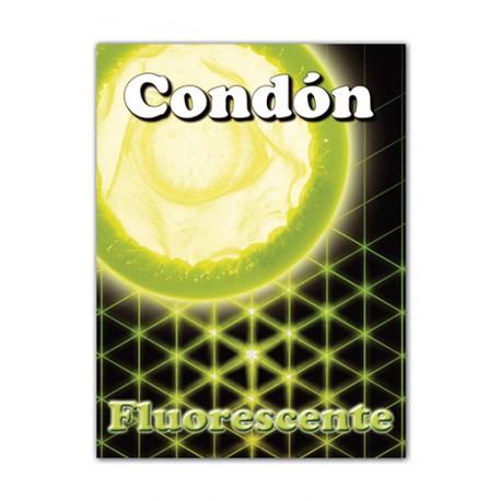 Condón Fluorescente NEON (1 unidad)