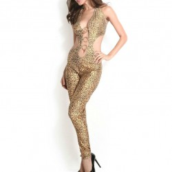 7860 - Body leopardo + diadema