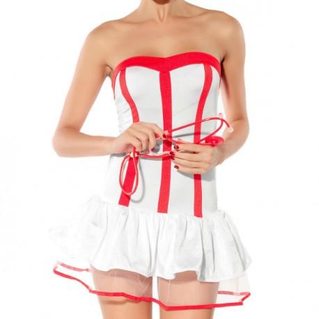 7728 - Disfraz corsé de enfermera
