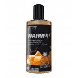 Aceite comestible efecto calor WarmUp - sabor CARAMELO