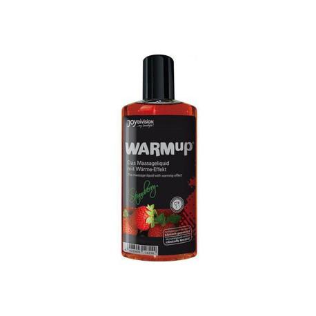 Aceite WarmUp FRESA sabor y calor (150ml)