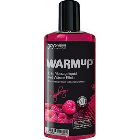 Aceite comestible efecto calor WarmUp - sabor FRAMBUESA