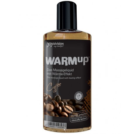 Aceite comestible efecto calor WarmUp - sabor CAFE