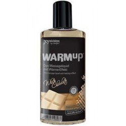 Aceite comestible efecto calor WarmUp - sabor CHOCOLATE BLANCO