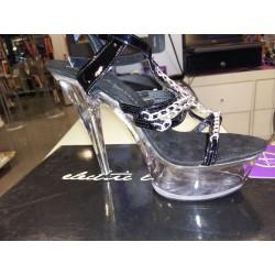 Zapato plataforma + cadenas (39)