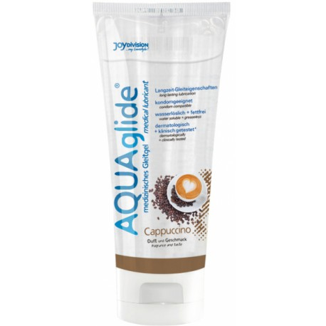 Lubricante AquaGlide sabores - CAPPUCCINO (100ml)